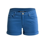 W Stretch Font Shorts