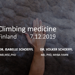 Climbing Medicine Finland - professionals